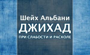 sheykh-albani-jihad-pri-slabosti-i-raskole