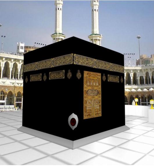 Черный камень на Каабе, с которого начинается таваф во время умры