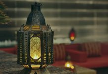 Лампа в рамадан